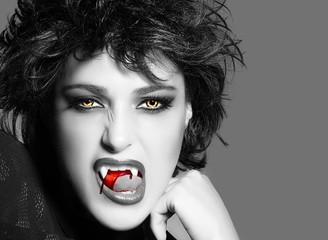 Vampire. Beauty Gothic Girl