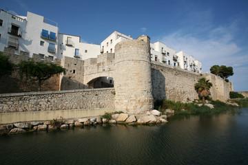 Vista del Castillo de Peñíscola