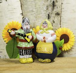 Russian clay dolls