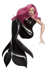 art of a mermaid