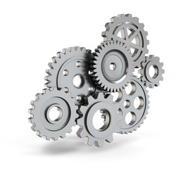 Steel gear mechanism