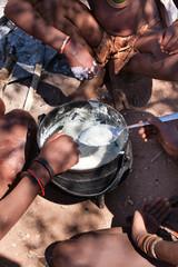 Pasto Himba Namibia