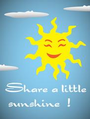 Share a little sunshine