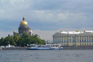 St. Petersburg.  View of Angliyskaya Embankment