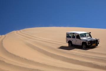 Touru sul deserto della Namibia