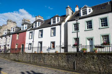 Typical houses in South Queensferry