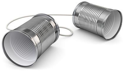 Büchsentelefon Version 1