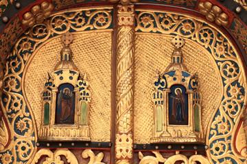 Part of door church