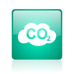 carbon dioxide internet icon