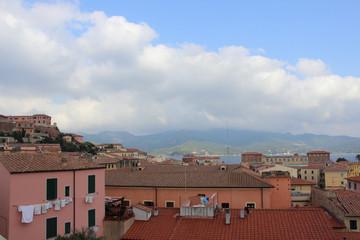 Panorama dal centro storico di Portoferraio
