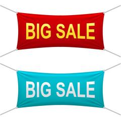 Big sale banners