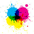 CMYK stains