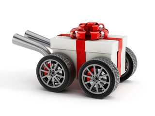 Fast gift delivery
