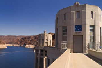 Hoover Dam - Arizona Time