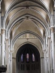 Catedral gótica de Lausanne en Suiza