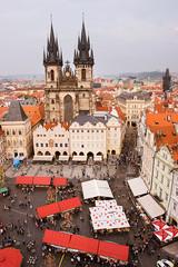 Old town square of Praga