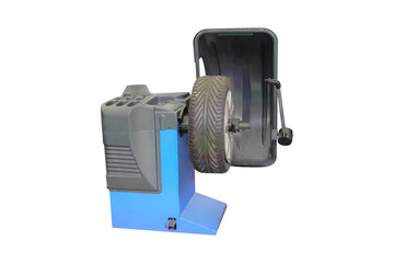 The image of tyre fitting machine