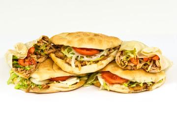 Döner und Dürüm Kebab