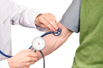 Blutdruck messen beim Hausarzt