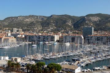 Port de plaisance de Toulon