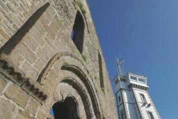 Saint Mathieu, Kloster und Radarturm