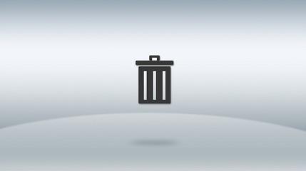 the trash icon