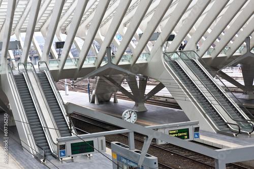 Aluminium Treinstation Bahnhof Liège Guillemins