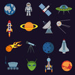 Space and astronomy icons - 69737275