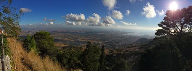 Panoramica da monte Erice