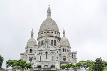 The Sacre Coeur in Paris