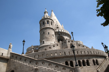 Fishermens Bastion in Budapest Hungary