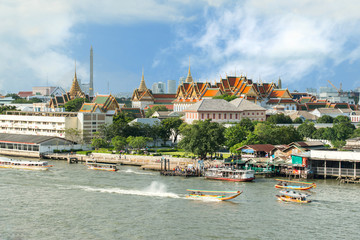 Landscape of Thai's king palace in Bangkok Thailand