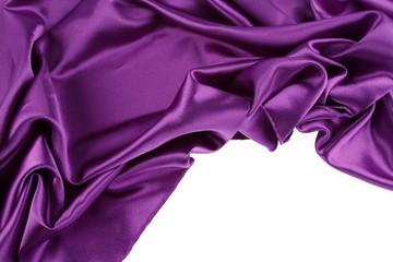 Purple silk