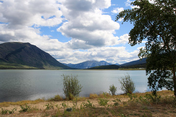 Bennett Lake, Carcross, Yukon, Canada