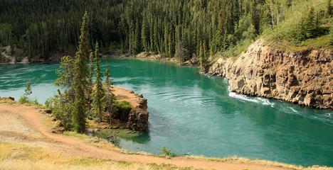 Miles Canyon, Whitehorse, Yukon, Canada