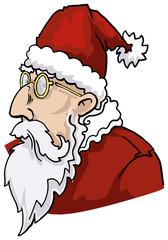 Santa portrait, father Christmas