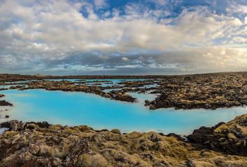 Blue lagoon hot spring, Iceland