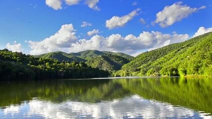 Mountain lake in National Park Europe