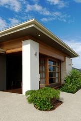 Modern architecture exterior details