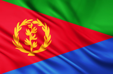The National Flag of Eritrea