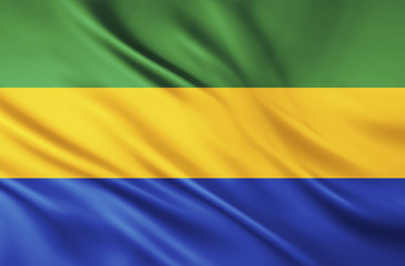 The National Flag of Gabon