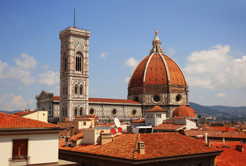 Cathedral of Santa Maria del Fiore (Duomo) in Florence. Italy