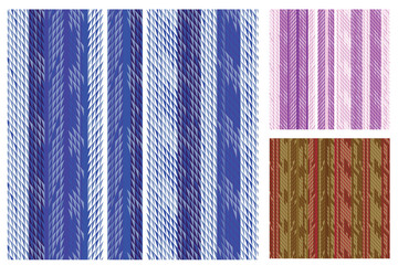 Elegant Striped Swatch Set