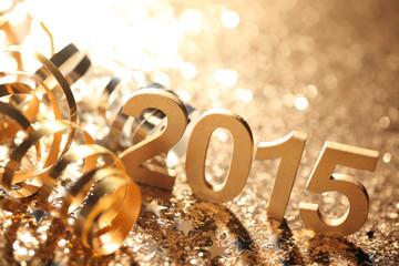New year 2015 decoration