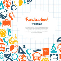 back to school background for school