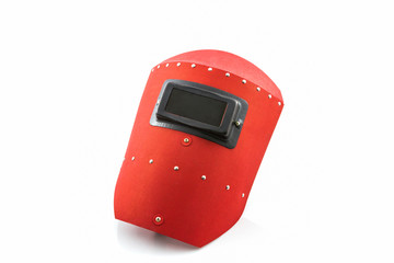 Red protective screen.