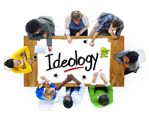 People Brainstorming about Ideology Concept