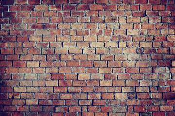 Classic Beautiful Textured Brick Wall