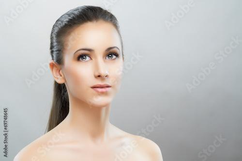 canvas print picture beauty portrait