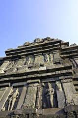Stupa in Prambanan temple on Java, Indonesia